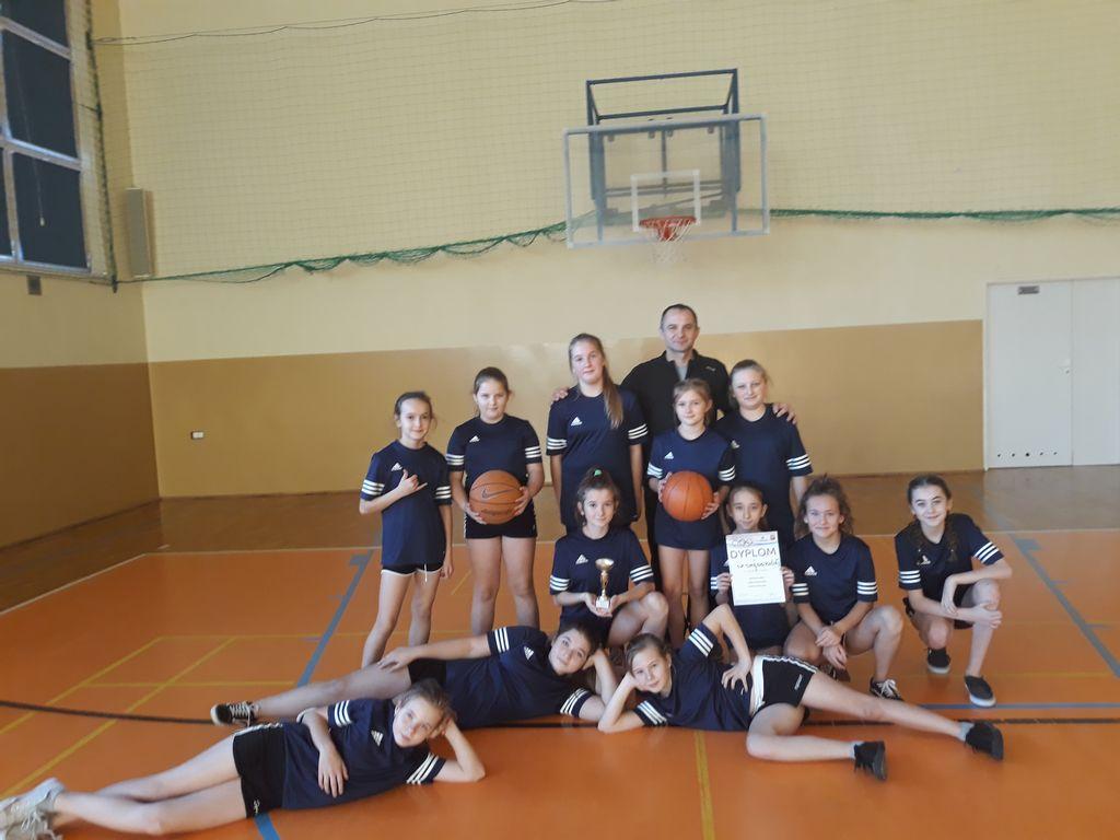 Mistrzostwa Powiatu w koszykówce dziewcząt