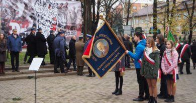 Powiatowe uroczystości 101. Rocznicy Odzyskania Niepodległości